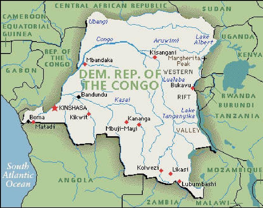 DRC Congo Kinshasa country profile