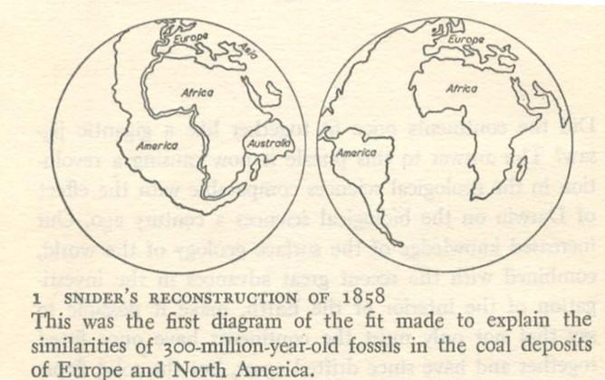 Concept Map Of Continental Drift.Continental Drift