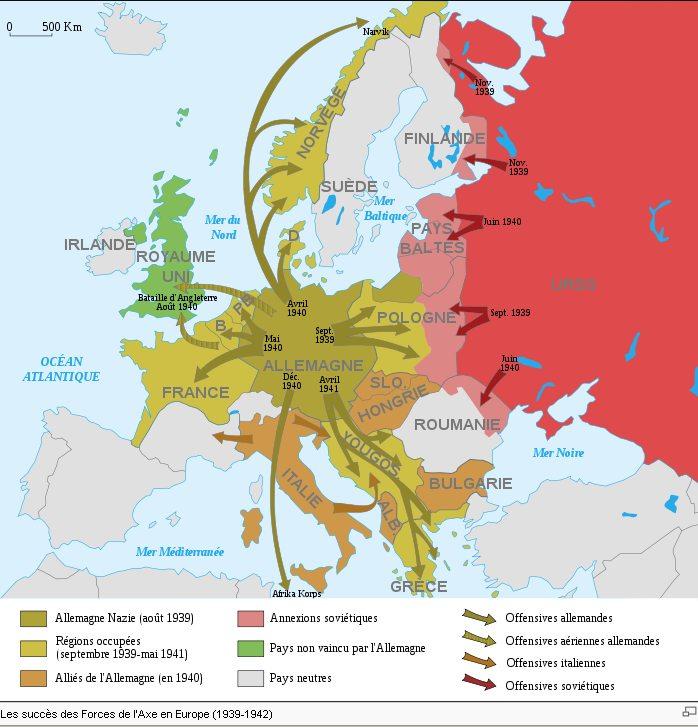 histoire europe après 1918
