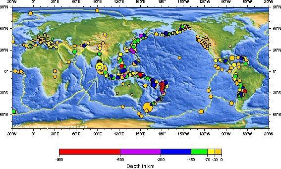 Earthquake magnitude 9 0 off the west coast of northern Sumatra
